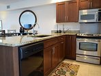 Enjoy the updated kitchen which is open to the dining and living areas.