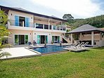 Sublime 6 bed pool villa near beach