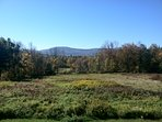 View from Deck Overlooking Windham Mountain in Summer