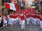 Fiestas de Hondarribia 8 de septiembre