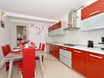 A1(5+2): kitchen and dining room