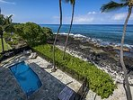 Swim in the pool with the sound of ocean waves near by!