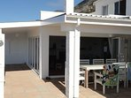 Large wind free verandah with direct access from the lounge