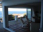 Sweeping sea views from the verandah