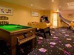 Chalet Serena games room