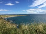 Fantastic views on the Largo to Elie coast walk