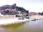Wonderful Castillo Sohail (Moorish Castle) with various watersports and rock climbing activities