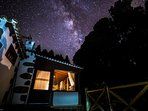 Our home location and the clean air makes it ideal for star gaze. Impresive Starry nights! :)