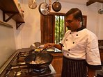 The house staff can prepare delicious Sri Lankan or Western meals, charged at market price