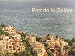 The amazing architecture of Port la Galere- location of our stunning apartment 'Brise de Mer'.