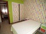 Dormitorio tercero con cama de 1,05 cm
