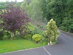 View to front of property from upstairs Sitting Room and Bedroom 1.