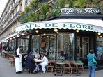 ' Le cafe de Flore' is at 5 mn walking from the apartment