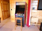 Game Room: Arcade machine with 60 different video games.