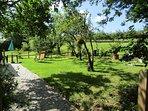 Pretty Orchard Garden.