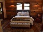 1st Floor:  Master bedroom with desk, generous walk in closet and en suite bathroom.
