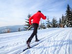 World-class cross country ski trails in and around Canmore