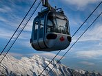 Ride the Banff Sulphur Mountain gondola for breathtaking views - or enjoy the hot springs!