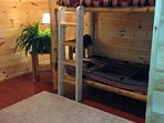 lower level bunks open to game room