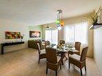 Luna Maya Tierra 5. Dining room and living area