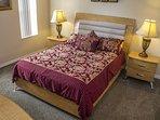Bedroom 2,With Queen Size Bed,En-Suite Bathroom and 32' flat screen TV.