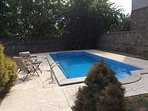 3 bedroom, 3 bathroom spacious detached villa with private pool.