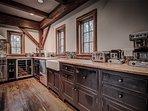 Kitchen workspace.