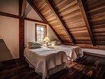 Loft bedroom. Sleeps 2.