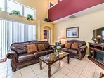 Orlando area vacation home--Living room