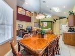 Open floorplan, dining, kitchen, living