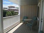 Oversize balcony