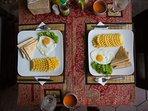 Honey Private House - Breakfast