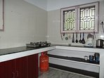 Kitchen with Stove & Gas, water heater, mixy, etc.