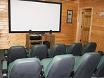 10 seat Theater room