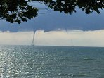 waterspout seen this summer