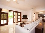Bright and spacious living room!