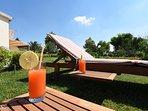 Graziosa villetta immersa nel verde offre due splendidi appartamenti con Aria Condizionata