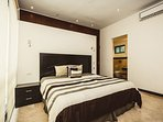 Master suite with king bed
