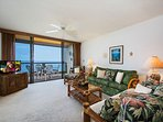 Living Area! Gorgeous Direct Oceanfront View
