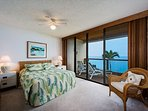 Master bedroom has direct oceanfront views!
