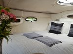 Master cabin with skylight