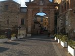Gateway to the medieval city of Penne - just a short drive away