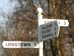 Longtown is the nearest place for shopping