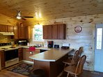 Kitchen is large enough to prepare a 7 course meal!