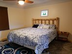 King Suite #2 features two sided fire-place and in room Jacuzzi tub large enough for 2!