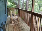 Where is everyone? From the front porch, back deck, 2 private king suites, all on 1 acre of privacy!