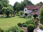 A truly idyllic setting in the grounds of a 16th century farmhouse