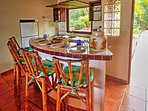 Create family favorites in the fully equipped kitchen.