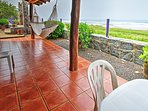 Enjoy lunch with mesmerizing beach views.