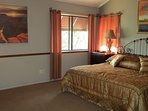 The Grand Canyon Master Bedroom. Lot's of room to relax & relive the grandeur!